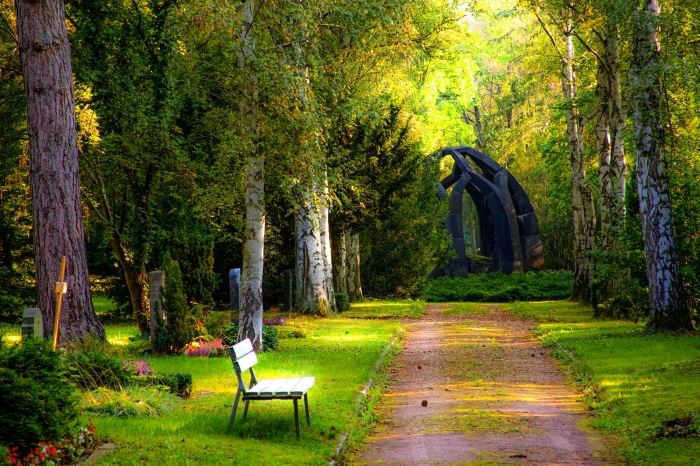peace garden walk