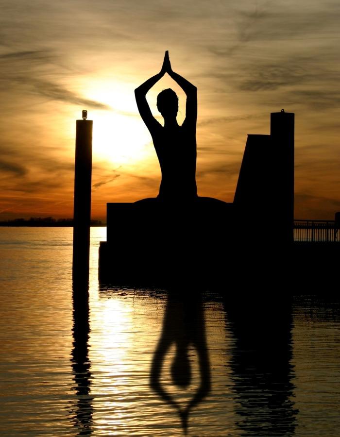 peace yoga pose